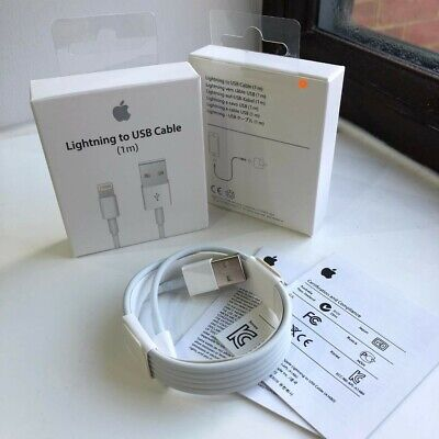 Iphone lightning Cable 10 X 7 8 6 Charger data USB cord 3ft 1M