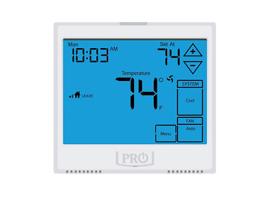 Programmable Touchscreen, 5+1+1 Or 7 Day Or Non-Programmable, 3H/2C Pro1 - T955
