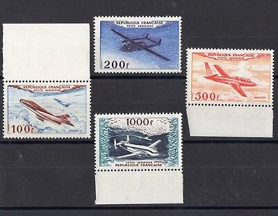 FRANCE: SERIE COMPLETE DE 4 TIMBRES POSTE AERIENNE NEUF** N°30/33 Cote: 400,00 €