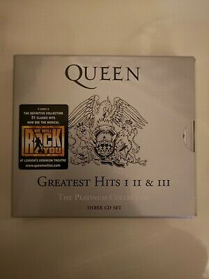 Queen - Greatest Hits I, II & III 1 2 & 3 - The Platinum Collection CD Set