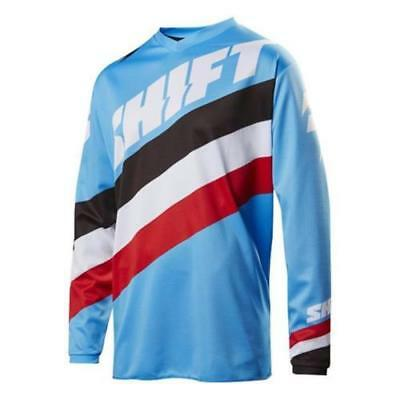 Shift Motocross Jersey Tarmac Blau XL Enduro MX MTB Motorrad Shirt Mountainbike