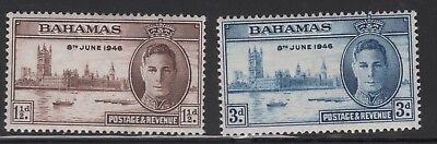 KING GEORGE VIth VICTORY STAMPS. BAHAMAS . MOUNTED MINT.