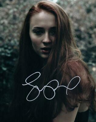 Sophie Turner Signed 8x10 Photo Autographed Picture with COA