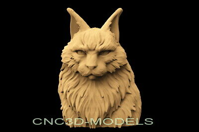 3D Model for CNC Router Engraver Carving Artcam Aspire Cat f863