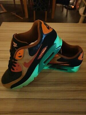 100% authentic 056d0 c6bc8 Nike Air Max 90 QS Halloween Special Edition Quick strike 717942 - 006 Size  9 UK