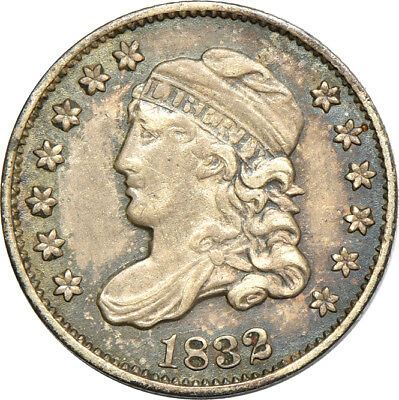 1832 Capped Bust Half Dime XF / Extremely Fine, 5C C38243