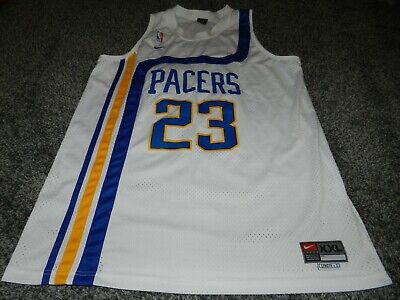6d4c71682c1 Vintage Nike Indiana Pacers Ron Artest  23 Stitched Nba Basketball Jersey  Xxl