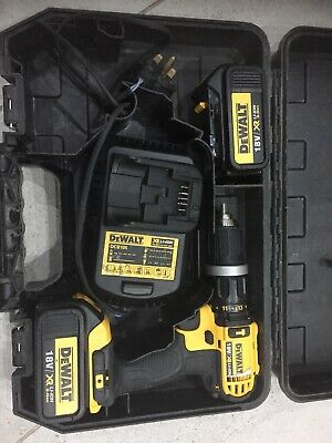 DEWALT DCD 785, 2 Battery's 3ah, Charger And Case.