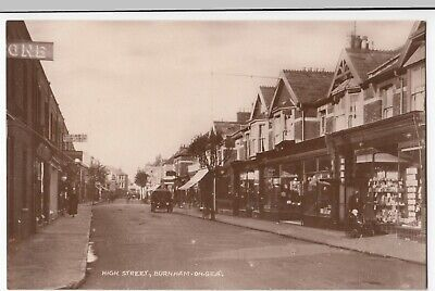 Somerset; High Street, Burnham On Sea RP PPC By Lily Series, Unposted, c 1930's