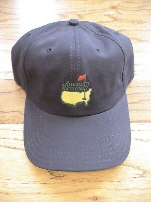 b3fa9b20735 Masters Golf Augusta National Members Only Not Masters Blue Slouch Hat Cap  Pga