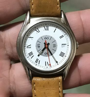 Vintage swiss made watch MONDAINE 7607.100 automatic ETA 2848 working condition