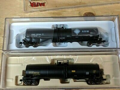 N Scale Atlas Tank Cars,  Two New Tank Cars.