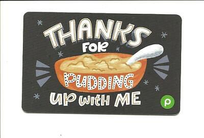 Publix Thanks For Pudding Up With Me Gift Card No $ Value Collectible