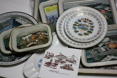 Lot Vintage 1967 World Fair Expo 67 Montreal Canada Valued Collection Items
