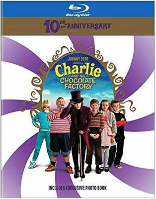 Charlie and the Chocolate Factory [10th Anniversary] [Blu-ray] DVD BRAND NEW