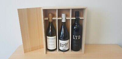 PREMIUM Timber Hamper Gift Boxes Wedding Favours Wine [BRAND NEW!]