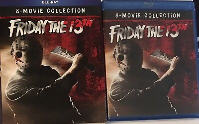 Friday the 13th Ultimate Collection 8-Movie Blu Ray Set NEW SEALED OOP W/ Slip