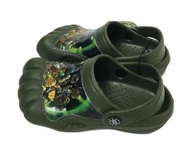 8d00646f97c0 TODDLER size 7-8 TEENAGE MUTANT NINJA TURTLES BABY KIDS BOYS CLOGS WATER  SHOES