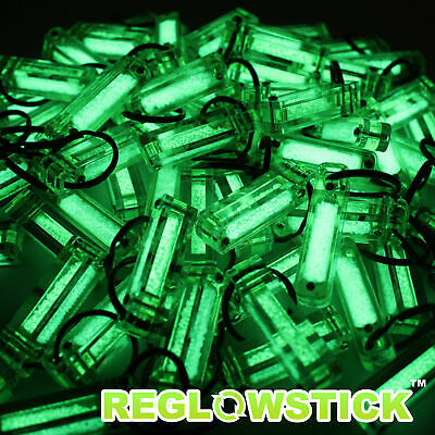 Reglowstick Firefly - Rechargeable Glow In The Dark Keychain. Non-Tritium !