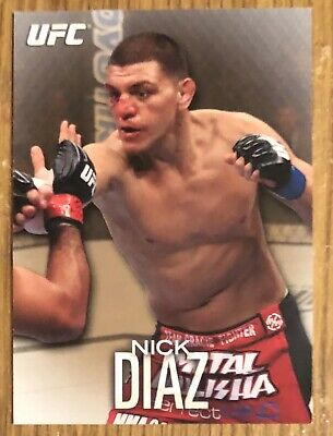 NICK DIAZ (GOLD /188) RC *2012 Topps UFC Knockout ~ ROOKIE CARD