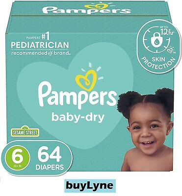 Pampers Baby Dry Diapers - Newborn (104ct) **buyLyne**