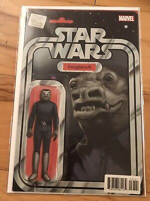 Star Wars #37 ~ CGC 9.8 ~ Blue Snaggletooth Action Figure Variant ~JTC Exclusive