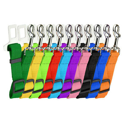 Pet Car Seat Belt Safety Seatbelt Harness Leash Lead Dog Adjustable Sales