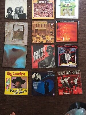 Record Collection Including ry cooder, Bushwackers (4) And Many Others