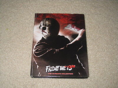 Friday the 13th Lot Jason Voorhees 12 DVD Set