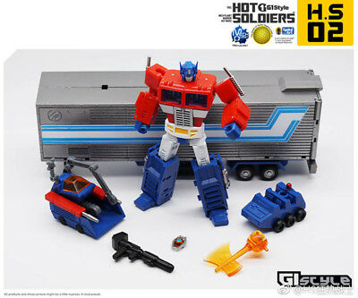 Details about  New Transformers X2TOYS XT011 Optimus primary color