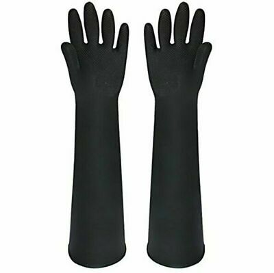 Buwico® 60CM  Long Rubber Waterproof Cleaning Washing Gloves Lengthened Latex I