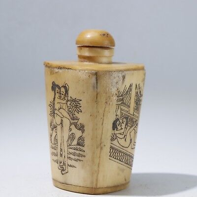 Snuff Bottles,Chinese carving Snuff Bottles B3149