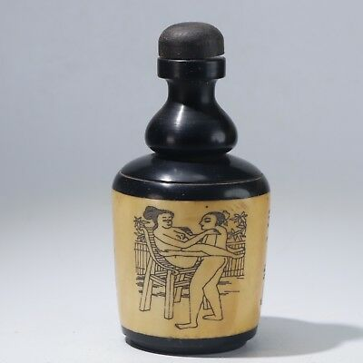 Snuff Bottles,Chinese carving Snuff Bottles B1409