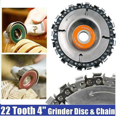 4inch GRINDER DISC  Chain 22 Tooth Fine Cut Chain For 100/115 Angle Grinding 1Pc