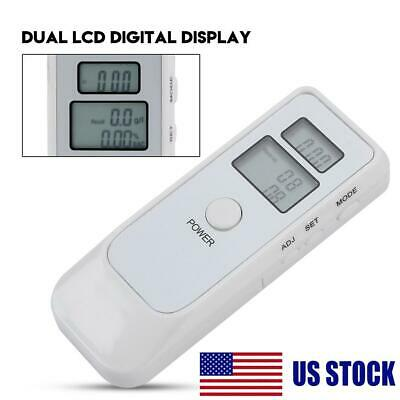 Portable LCD Digital Alcohol Breathalyser Breath Tester LCD Alcohol Tester Dual