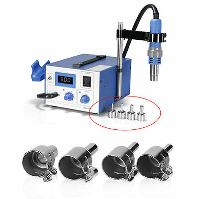 850 852 HOT Air Soldering Station BGA Nozzles Reflow Heat