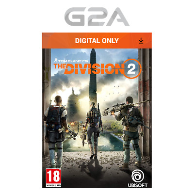 Tom Clancys The Division 2 Key [PC Game] Uplay Digital Download Code EU [UK] NEW