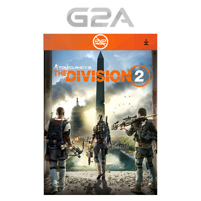 Tom Clancy's The Division 2 Key [PC Juego] Uplay Digital Download Code [ES] [EU]