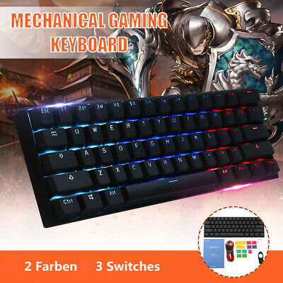 ANNE PRO 2 Gateron Switch Gaming Keyboard Backlit RGB Chroma Rainbow LED AU