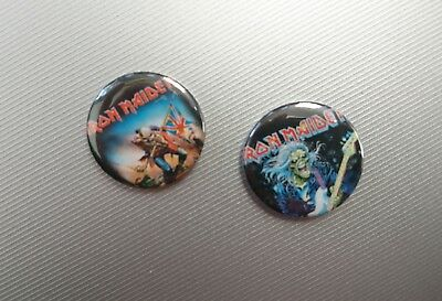 IRON MAIDEN - 2 Buttons