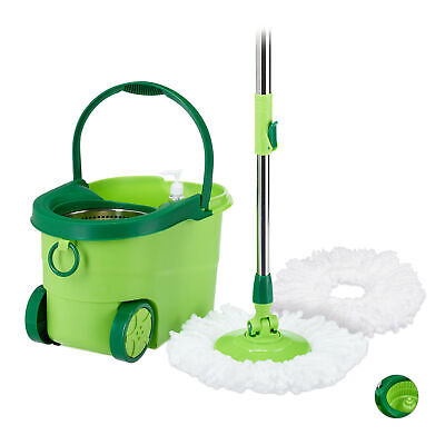 MOBIL Power Mop with Rolling Bucket Set, Floor Cleaning Kit