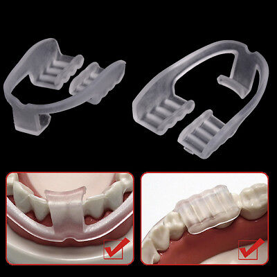 1Pc sleep aid stop bruxism anti snoring device dental mouth guard teeth grinding