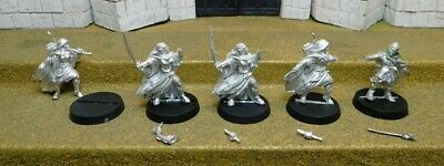 5 WOOD ELVES FOR CONVERSION - Lord Of The Rings Metal Figure(s)
