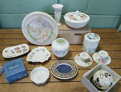 Collection of 10 Assorted Wedgwood Ornamental Pieces 33E