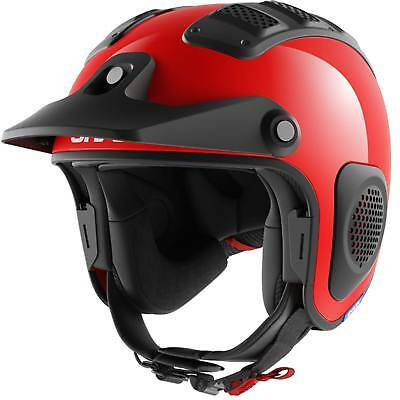Shark Atv Drak Rouge Casque Jet Moto Route Trial Quad Scooter Casque Vélo