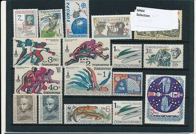 D247631 Czechoslovakia Nice selection of MNH stamps