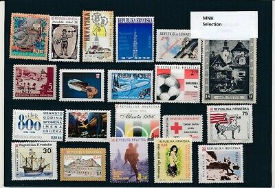 D247635 Croatia Nice selection of MNH stamps