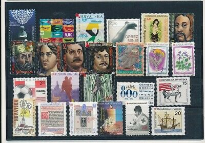 D247638 Croatia Nice selection of MNH stamps