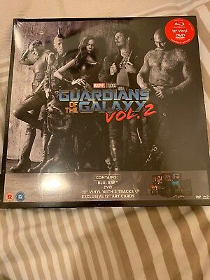 Guardians Of The Galaxy Vol. 2 Big Sleeve Edition Blu-Ray (BRAND NEW+SEALED)