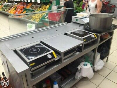 "Stand Mobil Cook ""Cuisine professionnelle"""